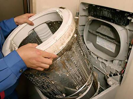 Sửa máy giặt electrolux tại nhà Quận Long Biên