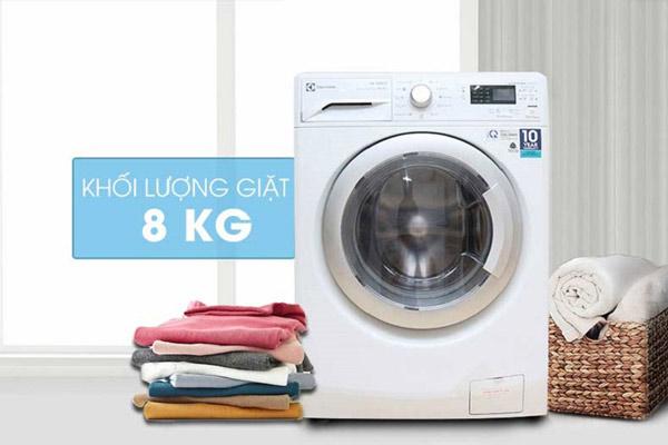 Một lần giặt máy tốn bao nhiêu nước